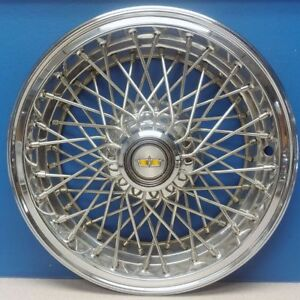 One 1982 1985 Chevrolet Caprice 3150 15 Wire Hubcap Wheel Cover Gm 14039162