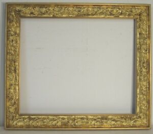 Museum Quality 18c Gilt Frame For Painting 23 X19 Inch