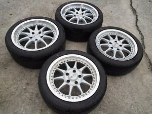 Jdm 1617 Blitz Racing Fr Wheels Rims For Toyota Mr2 Sw20 Fc3s Rx7 S13 S14 Fc Z32