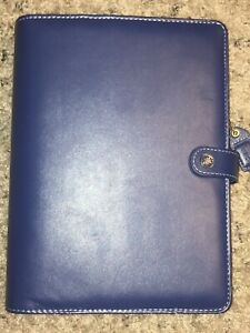 Webster s Pages Cc Daily Planner Kit Royal Blue Undated Vegan Leather