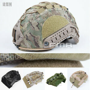 FMA TB1310 Tactical Hunt Helmet Cover Mesh Skin For Fast Helmet 4 colors 2 sizes