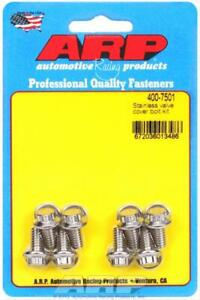 Arp 400 7501 Valve Cover Bolts Stainless 12 Point Stamped Steel Covers Set Of 8