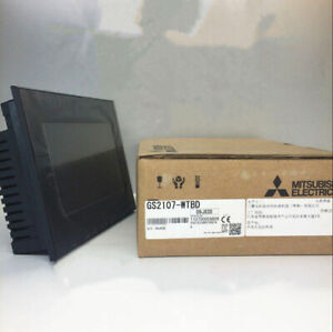 Gs2107 wtbd 1pc New In Box Mitsubishi Touch Screen Hmi Gs21077