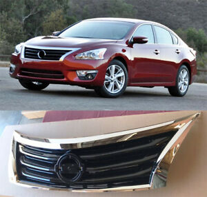 Front Grille Fit For Nissan Altima 2013 2014 2015 Factory Style Chrome