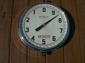Vintage Detecto Double Sided Series 40s Hanging Chatillon Produce Scale Jacobs