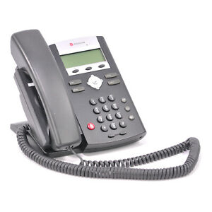 Polycom Soundpoint Ip 331 Sip Voip Phone W Stand Handset Cord 2201 12365 001