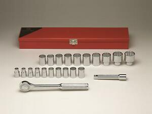 Wright Tool 1 2 In And 3 4 In Drive Socket Set 472