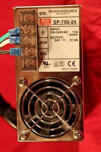 Mean Well Sp 750 24 24vdc 31 3 A Dc Power Supply 100 240vac Input 750 Watts