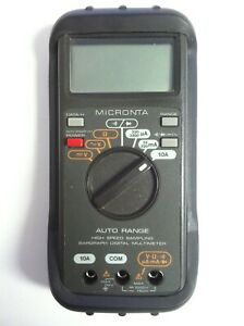 Micronta Digital Multimeter 22 167 Auto Range High Speed Sampling Bargraph