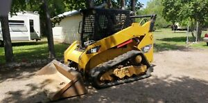 2012 Caterpillar 259b3 2sp Skid Steer Track Loader Enclosed Cab Ac heat