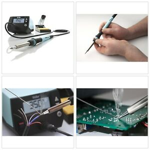 Soldering Iron Silicon Cable Heat Resistant Light Weight Handheld Durbale Sturdy