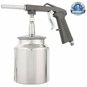 Air Spray Gun Vehicle Undercoating Suction Feed Cup Spraying Sprayer Paint Tool