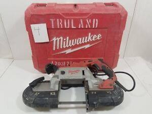 Milwaukee Deep Cut Variable Speed Band Saw Kit Corded Carrying Case 6232 21
