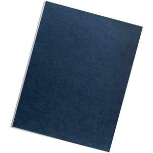 Fellowes Expression Linen Presentation Covers Letter 200pk navy
