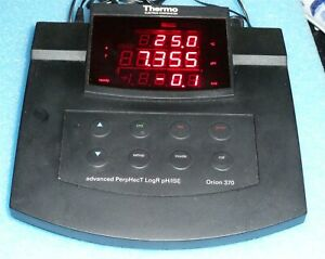 Thermo Orion 370 Ph Meter Perphect Logr Ph Ise