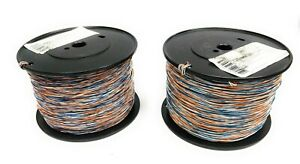 Lot Of 2 General Cable 1000 4 c 24awg Cross Connect Wire Spools 7023716