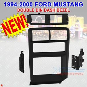 1994 2002 Ford Mustang Car Stereo Radio Double Din Installation Dash Kit Bezel