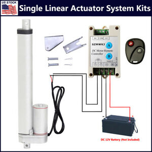 Linear Actuator 12v Dc 1500n 1000n Limit Switch Motor Controller Brackets System