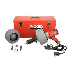 Ridgid 36023 K 45 5 Drain cleaning machine