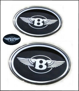Fits Chrysler 300 Bentley Grille B With Wings Emblems Badge Front trunk steering