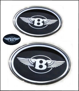 Chrysler 300 Bentley Grille B With Wings Emblems Badges Front Trunk Steering