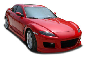04 08 Mazda Rx8 Ms Style Kbd Urethane Side Skirts Body Kit 37 2291