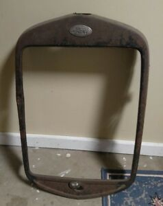 Antique vintage Ford Truck Front Grill 1930 s Used Neat Old Find