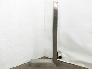 Stainless Steel Clean Room Air Duct Housing 72 5 X 30 5 X 16