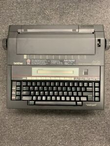 Brother Ax 26 Word Processing Electronic Typewriter