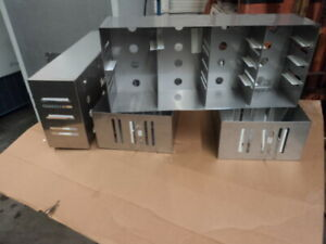 Modifiable Ultra Low Temperature Freezer Rack For Standard 2 3 Boxes