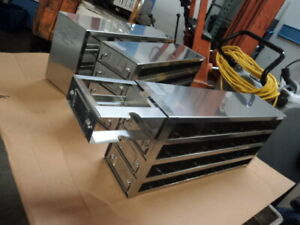 Rack With 4 Drawers For Ultra Low Temperature Freezer For Standard 2 Boxes