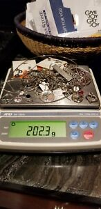 Sterling Silver Mixed Scrap New Lot 925 200 Grams 5