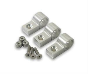 Earl S 170206erl Hose Mounting Clamps Billet Polished One 375 Dia Hole Setof4