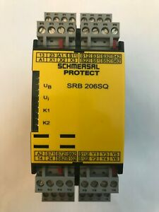 Used Schmersal Srb 206sq 24v Safety Relay