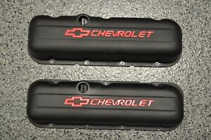 Proform Stamped Steel Valve Covers For Big Block Chevrolet 141 811