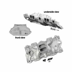 Summit Stage 1 Intake Manifold Chevy Sbc 283 327 350 Fits Stock Heads 226012