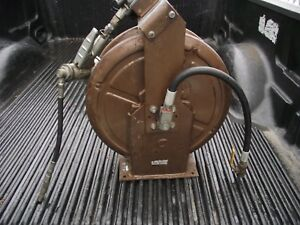 Alemite Gear Oil Gun On A Stewart Warner 7233a Hose Reel Pick Up Only In N j