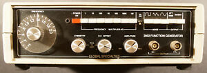 Global Specialties 2002d Function Generator With Power Supply