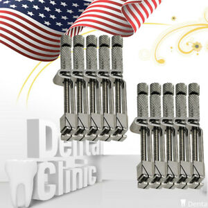 10 dental Matrix Tofflemire Retainer Universal Bands Stainless Steel Support A