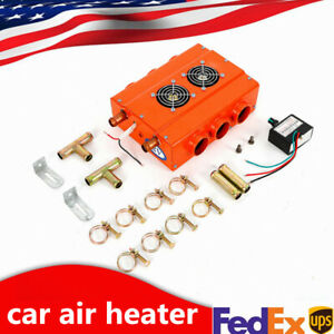 Universal 6 Ports Car Truck Air Heater Underdash 2 Side 3hole Compact Us Stock