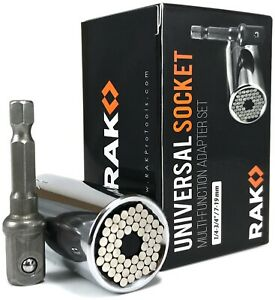 Rak Universal Socket Grip Multi Function Ratchet Wrench Power Drill Tool Gift