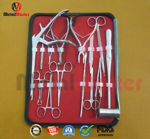 O r Grade Lacrimal Eye Micro Minor Surgery Set Of 33 Pieces Ophthalmic Tools