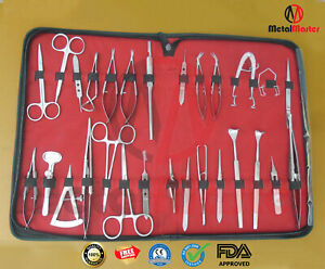 Basic O r Grade Ophthalmic Micro Surgery Kit Of 30 Pieces Surgical Supplies Set