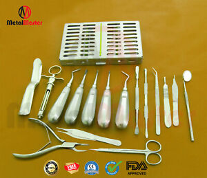 Oral Surgery Set Surgical Dental Instruments And Dental Tools