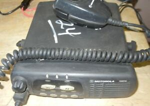 Used Motorola Uhf Cdm750 2 Way Radio With Mic