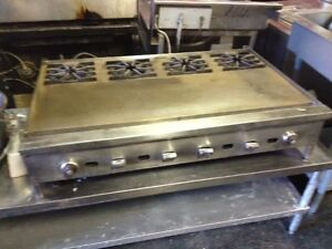 Jade 48 Thermostat Griddle Gas With 4 Burner Built In rare Call 337 944 9316
