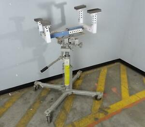 Otc 1794a 100016 Transmission Jack High Lift With 1758 Fuel Tank Handler