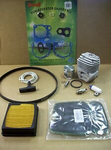 Partner K750 Cutoff Saw Rebuild Kit Cylinder Piston Fits Husqvarna K750