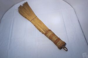 30 Antique Hand Made Primitive Hearth Straw Whisk Fireplace Broom Brush