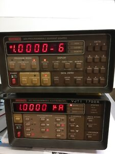 Keithley 220 Programmable Current Source 0 5 Pa To 101 Ma calibrated